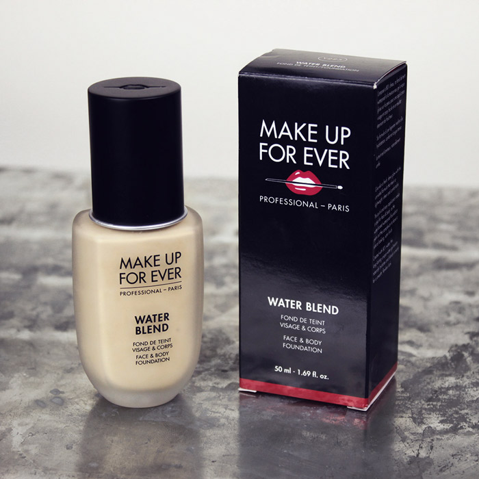MAKEUP FOREVER Water Blend foundation - Y225