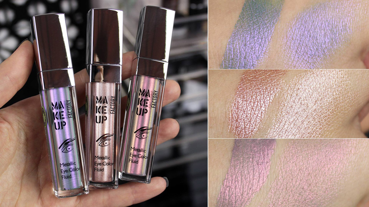 MAKEUP FACTORY Metallic Color Eye Fluid