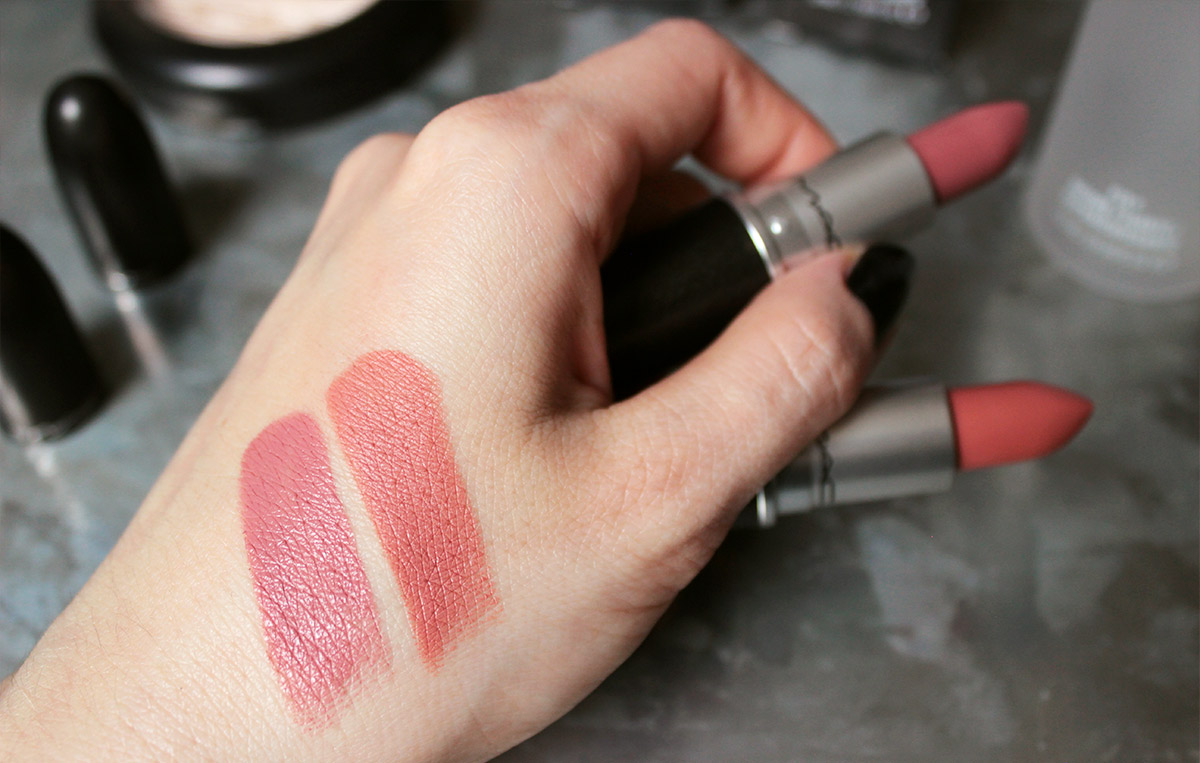 MAC Lipsticks - FAUX / KINDA SEXY