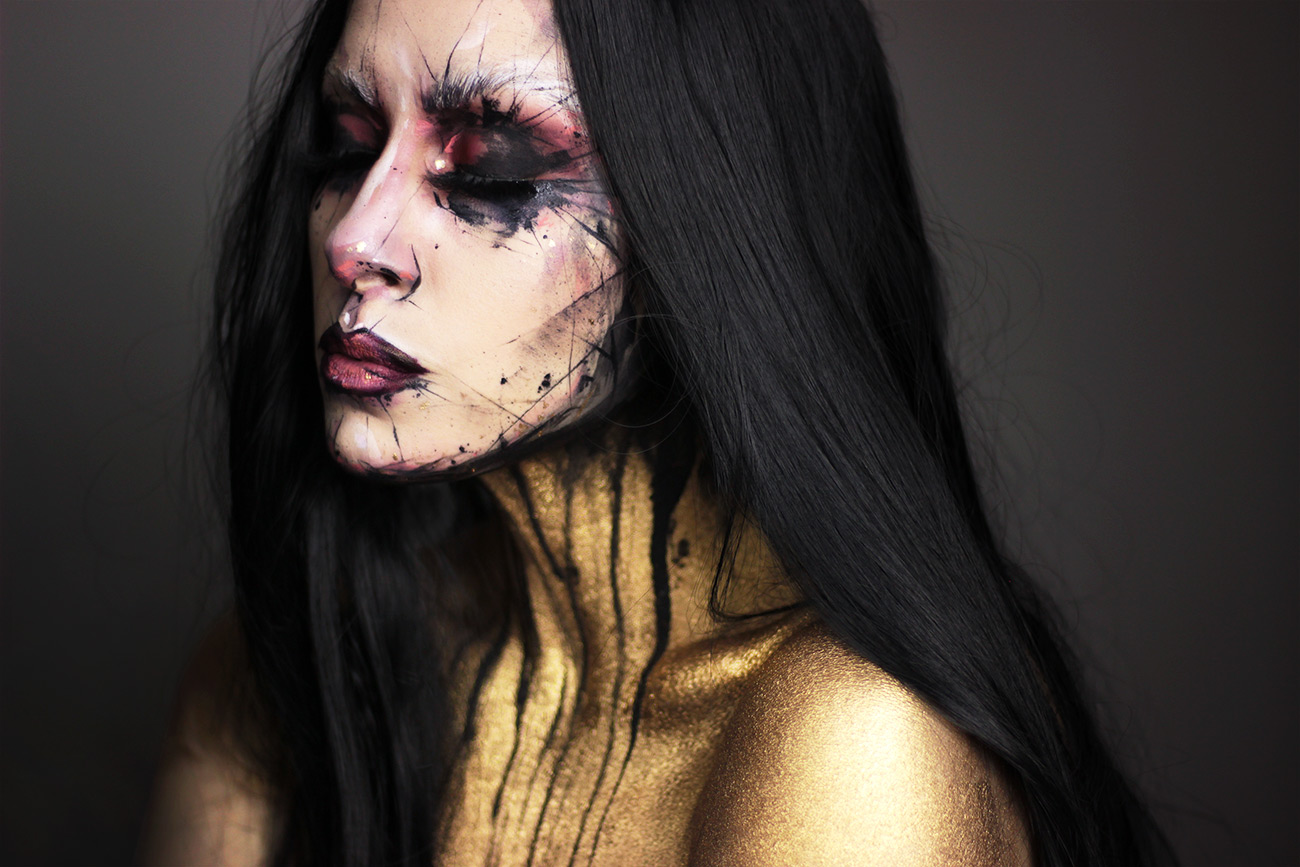 Pale Canvas Dustin Bailard inspired halloween look