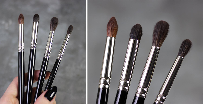 HAKUHODO brushes: G5526, G5529, G5533, G5529