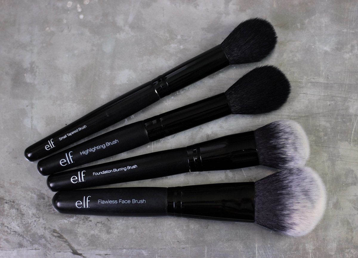 e.l.f. brushes