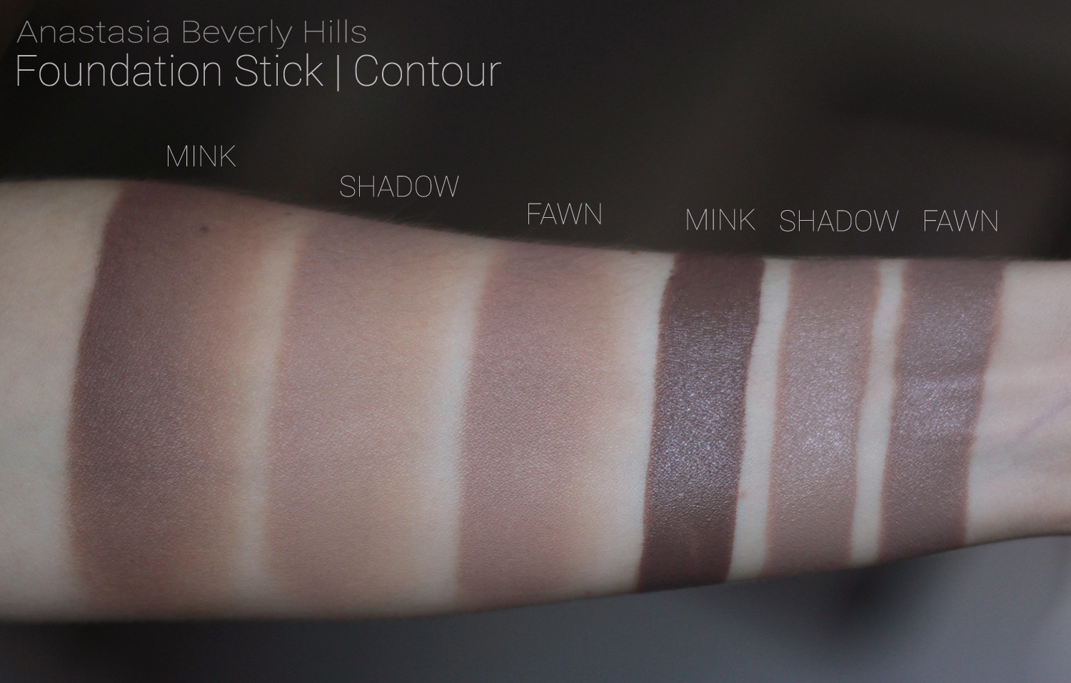 ABH Foundation sticks CONTOUR