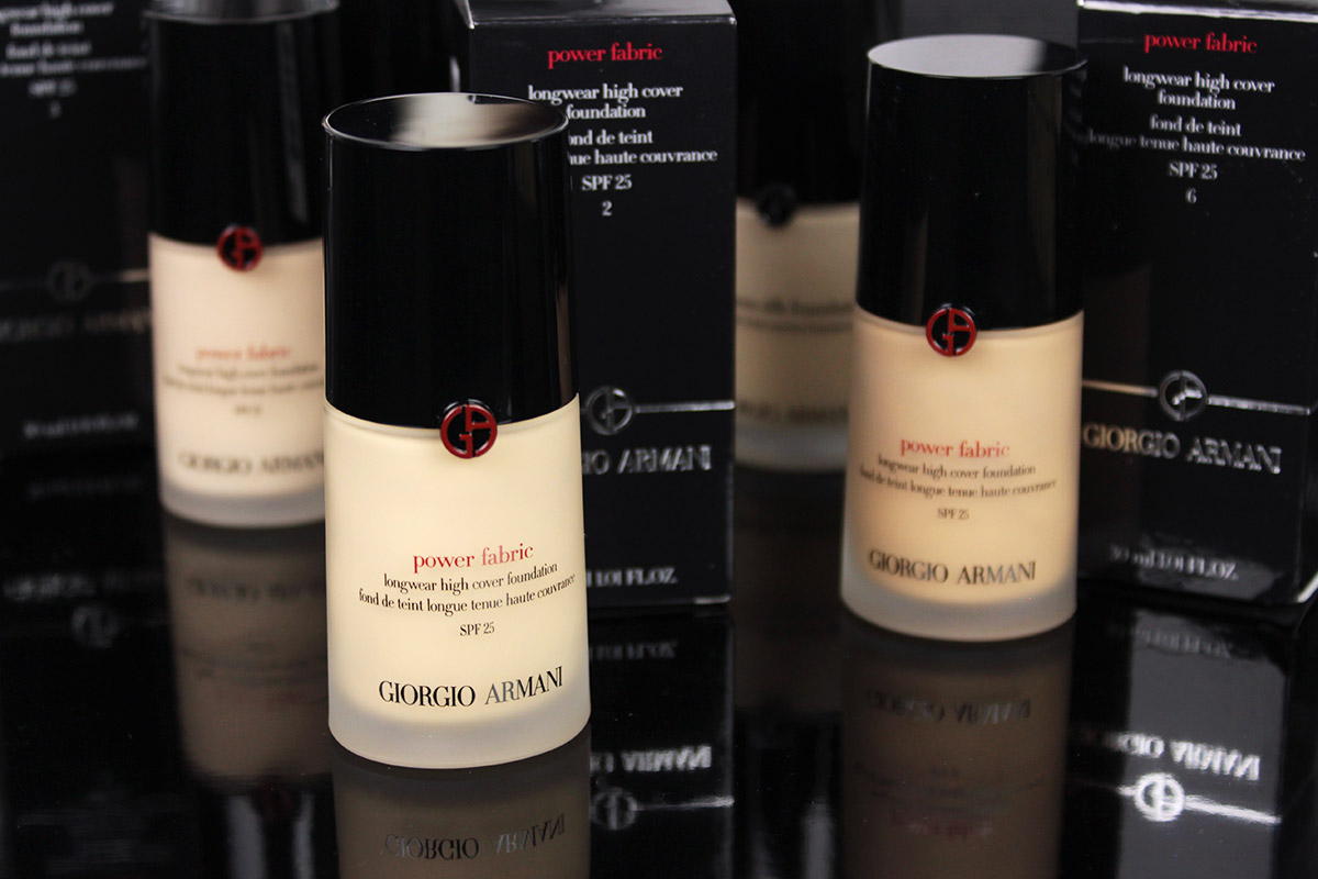 ARMANI Power Fabric Long Wear High Cover Foundation