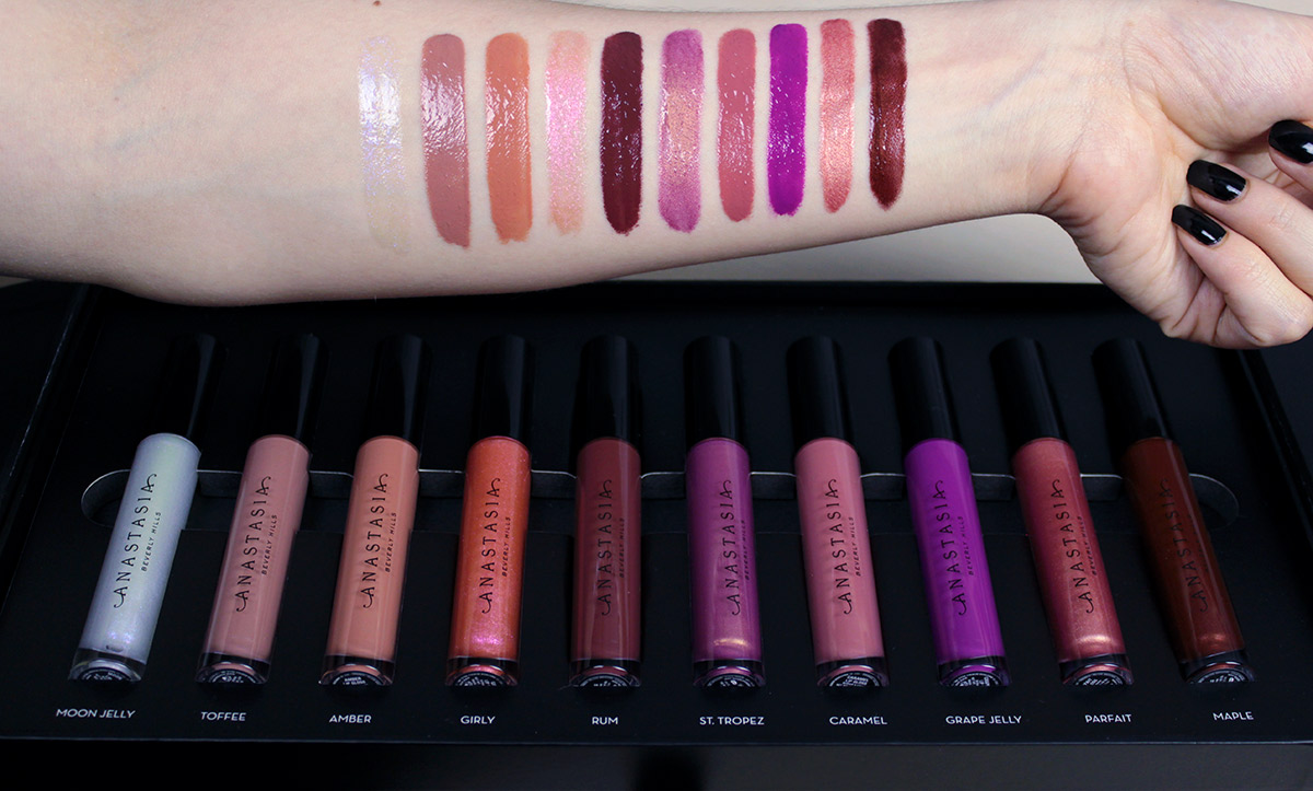 Anastasia Beverly Hills SUMMER COLLECTION Lip Glisses