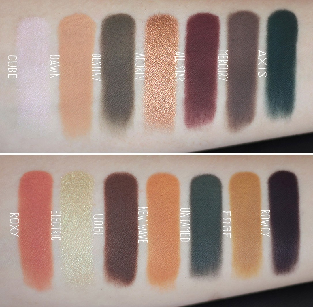 ABH Subculture swatches