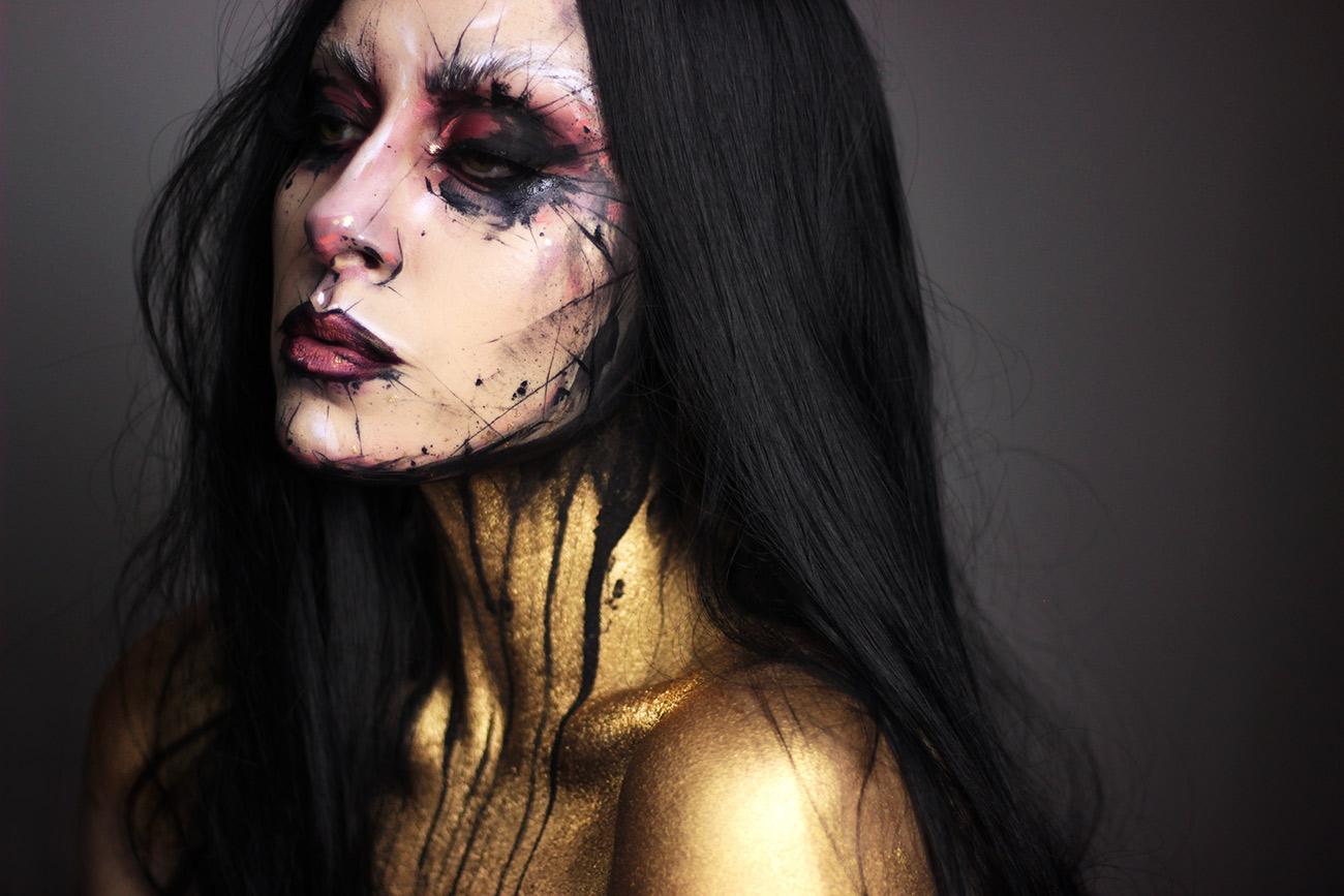 Pale Canvas Dustin Bailard inspired halloween look