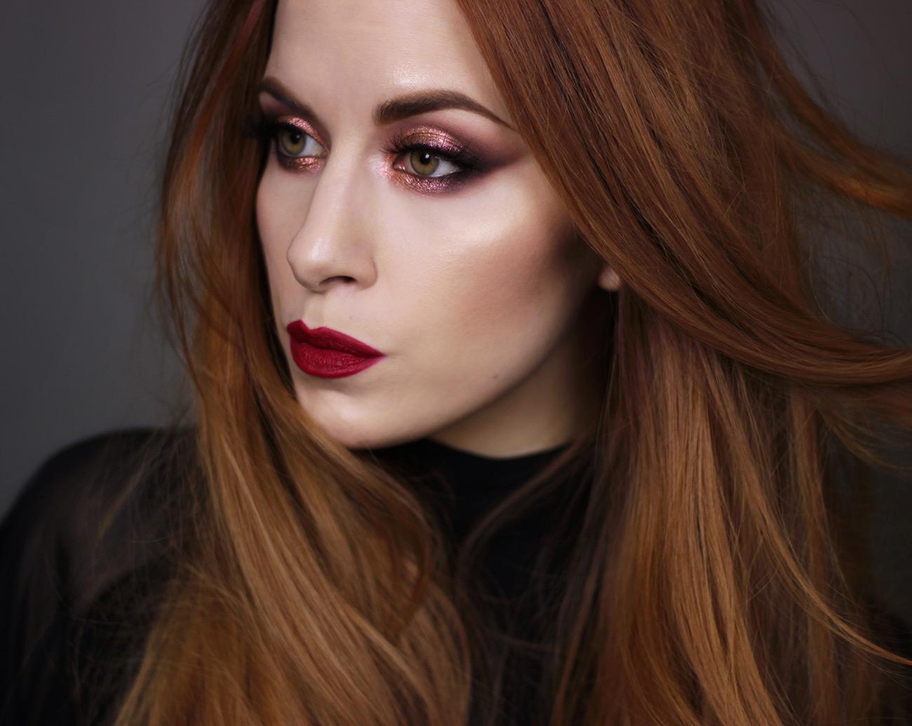 Mac Snow Ball makeup look